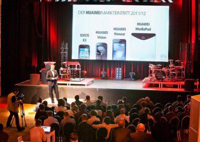 Kunde HUAWEI | Projekt ASCEND P1 LAUNCH EVENT - MÜNCHEN | 2012