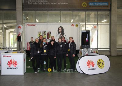 Kunde HUAWEI | Projekt BVB SPONSER OF THE DAY | 2014