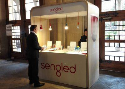 Kunde SENGLED | Produktion MOBILER MESSESTAND