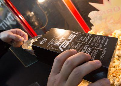 Kunde ASUS | Projekt Popcorntüten Branding IFA Berlin | 2018