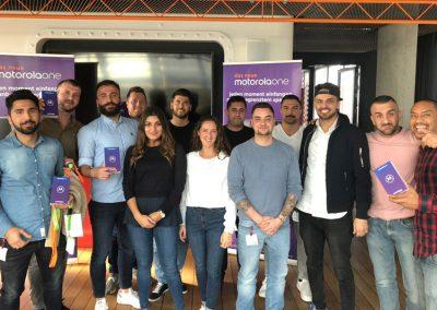 Kunde MOTOROLA | Projekt Salespromotion | 2018